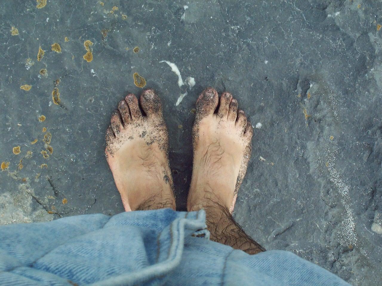 ItalishMagazine Diaro d'Irlanda - i piedi sulle Aran