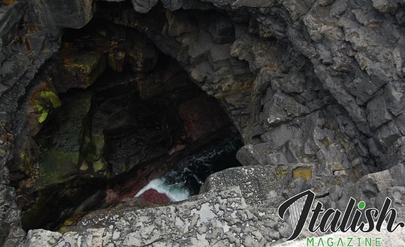 ItalishMagazine - Isole Aran - Puffing Hole
