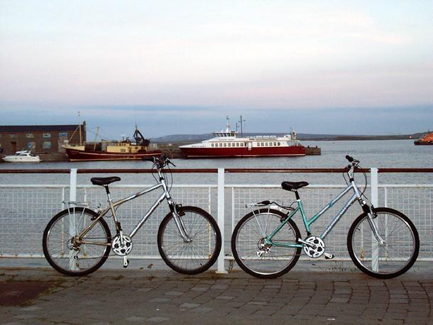 isole aran in bici