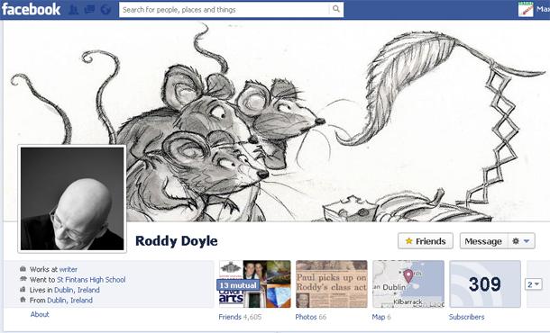 Roddy Doyle on Facebook