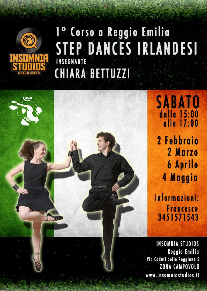 Danze Irlandesi a Reggio Emilia
