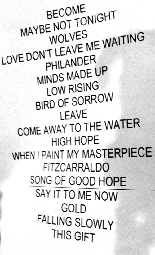 Glen Hansard - The Frames - Lisa Hannigan Live in Florence @Viper 2013 February 2nd