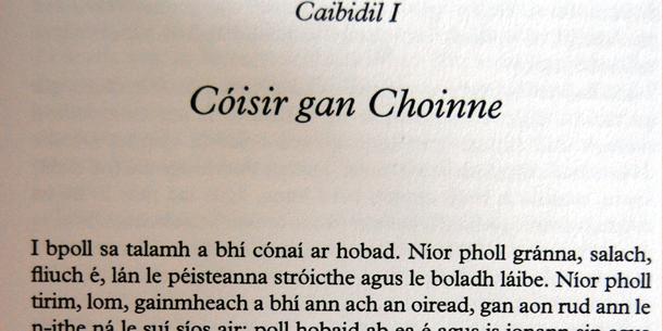 Tolkien in Irlanda: An Hobad, nó Anonn agus Ar Ais Arís