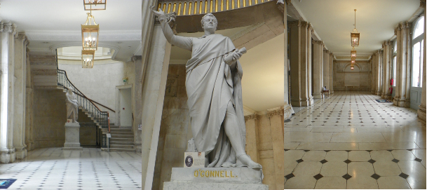 stones of dublin - city hall