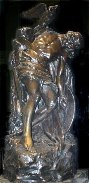 Cú Chulainn statue at GPO, Dublin