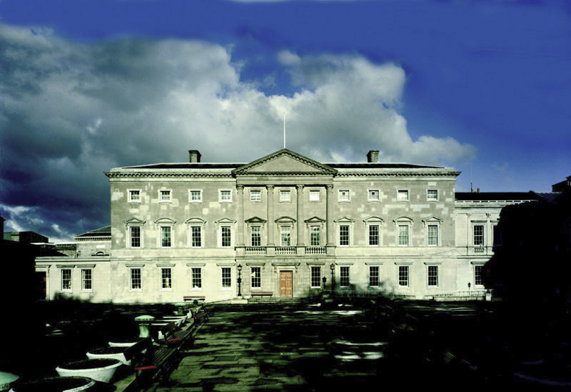 Dublino Leinster House Front Exterior