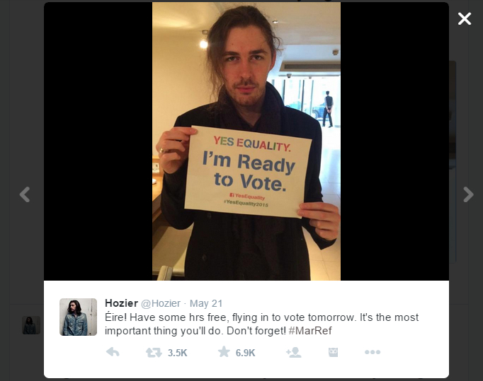 yes equality Hozier