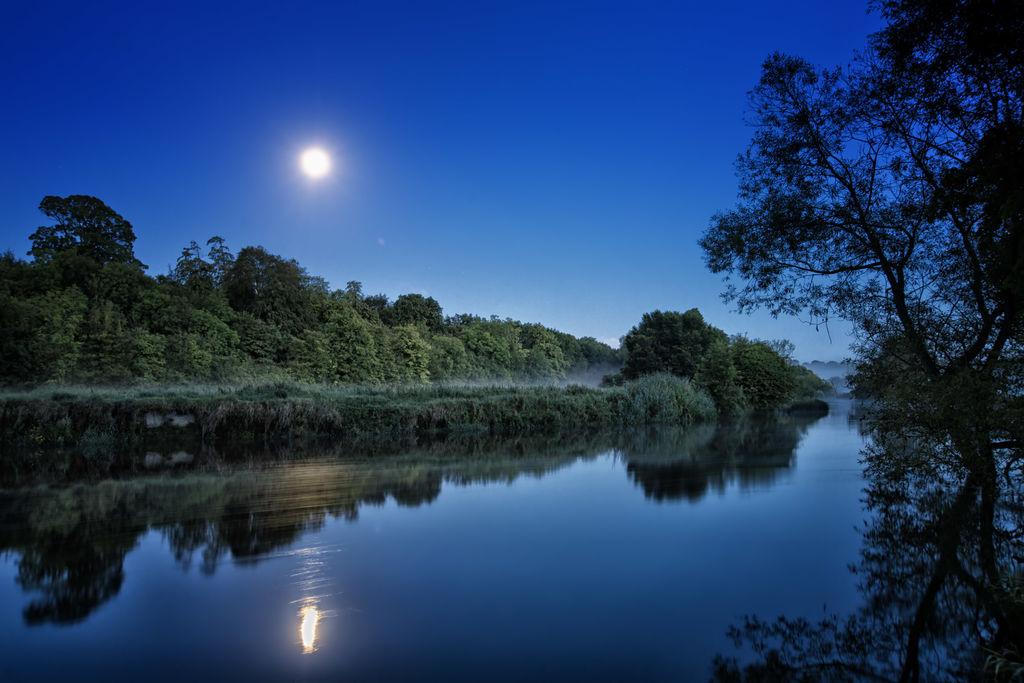 itinerari irlandesi il fiume Boyne in canoa