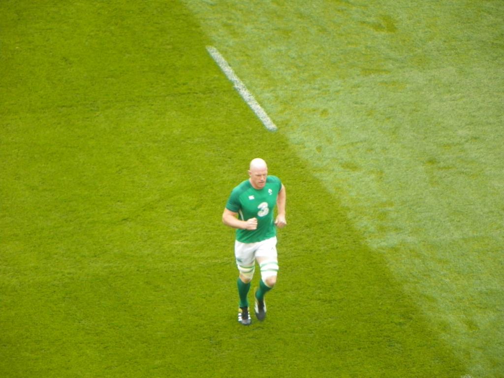Rugby irlandese un giorno all'Aviva Stadium - Paul O'Connell