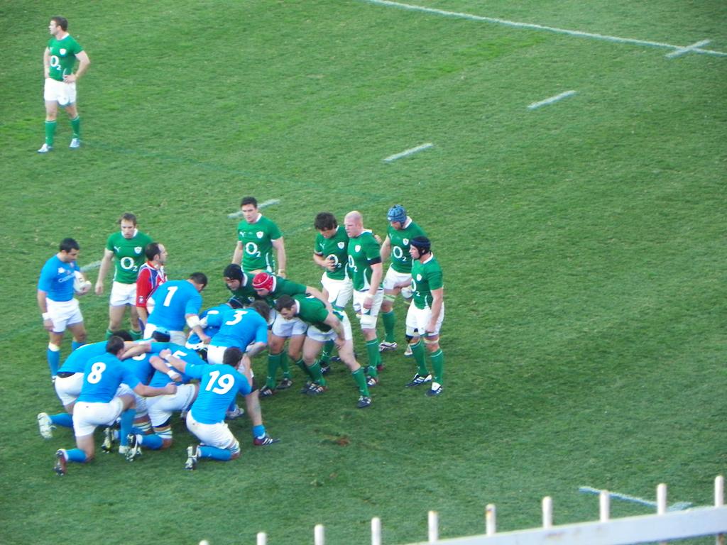 Italia Irlanda Rugby