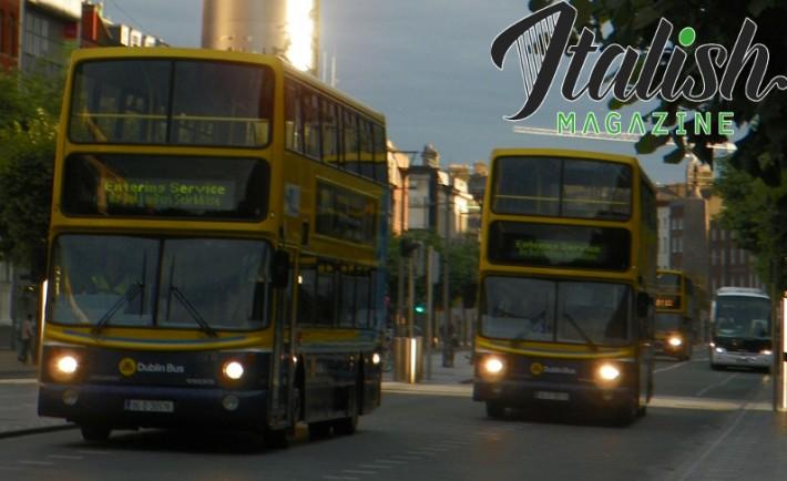 ItalishMagazine - Dublino in bus