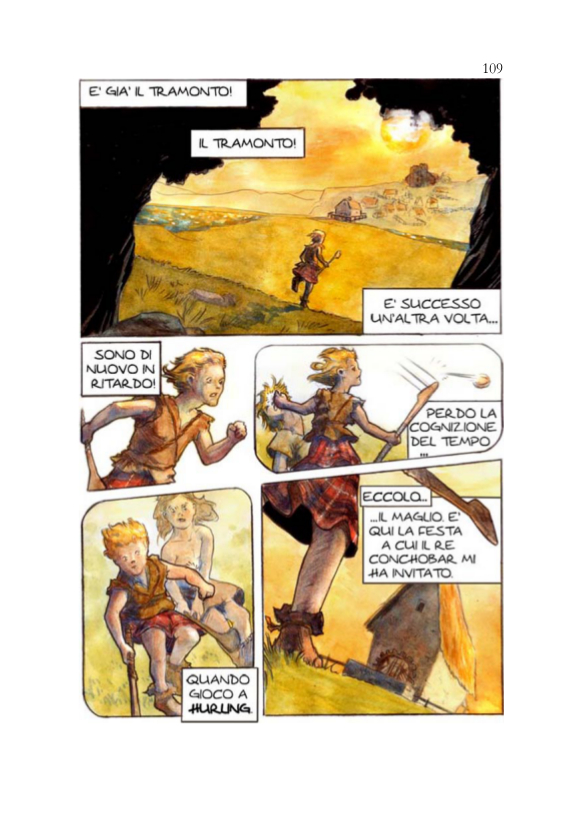 ItalishMagazine - Roberto Martinelli - Cú Chulainn