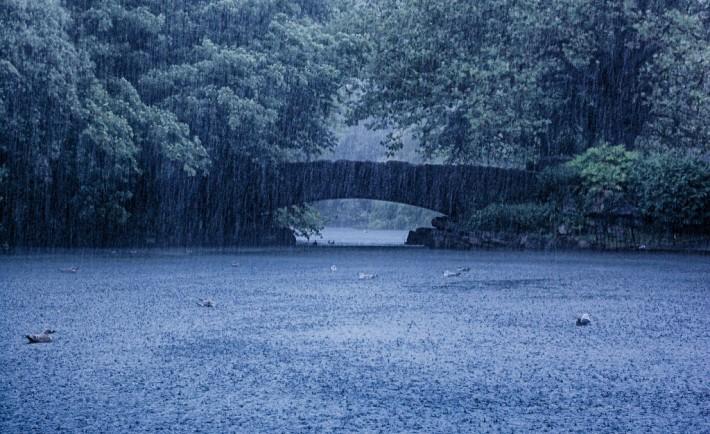 fotografare dublino | st stephen's green sotto la pioggia