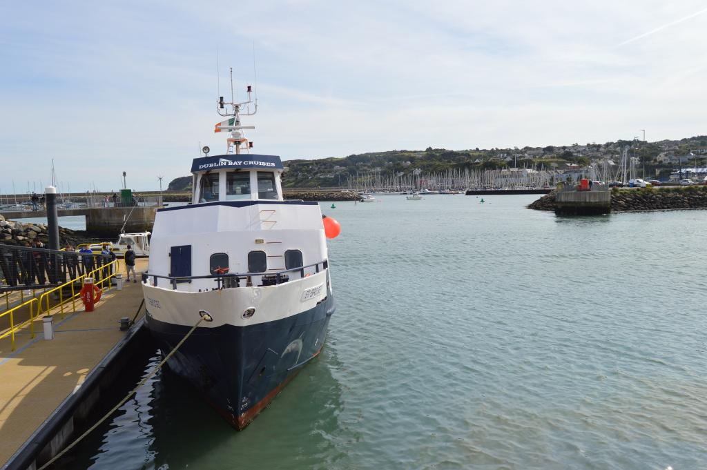 dublino dal mare 01 - dublin bay cruises - howth