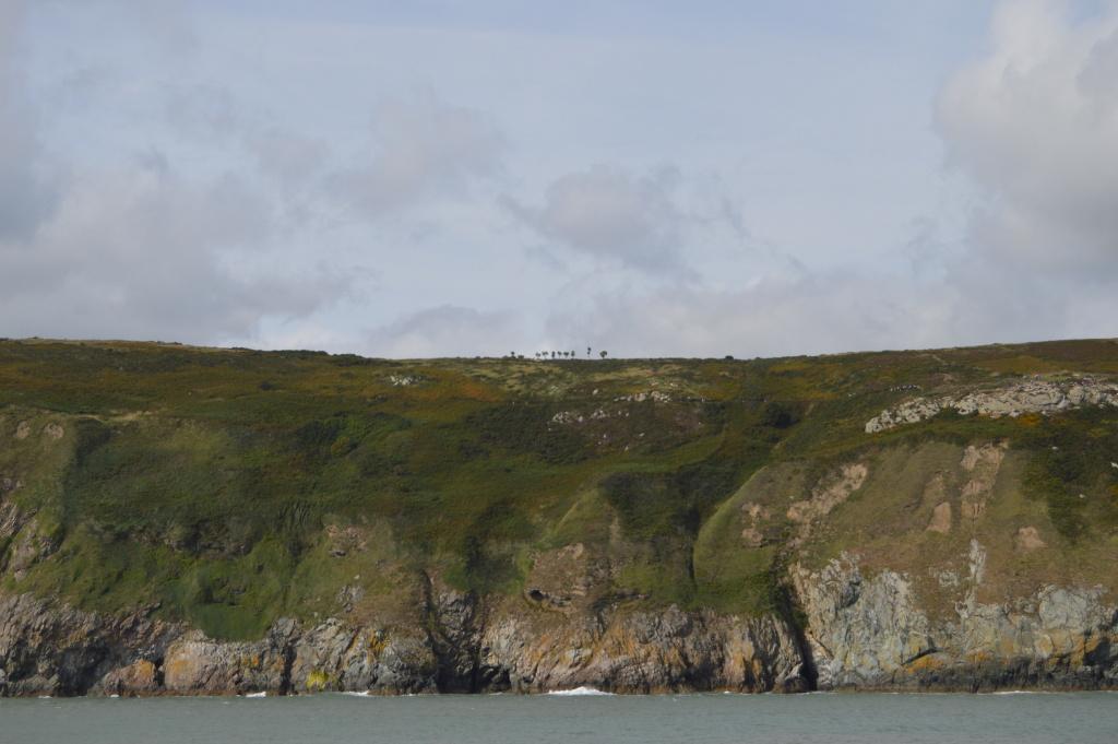 dublino dal mare 05 - howth - scogliera